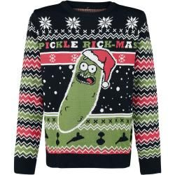 Photo of Rick und Morty Pickle Rick WeihnachtspulloverEmp.de
