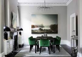 Bilderesultat for green dining room