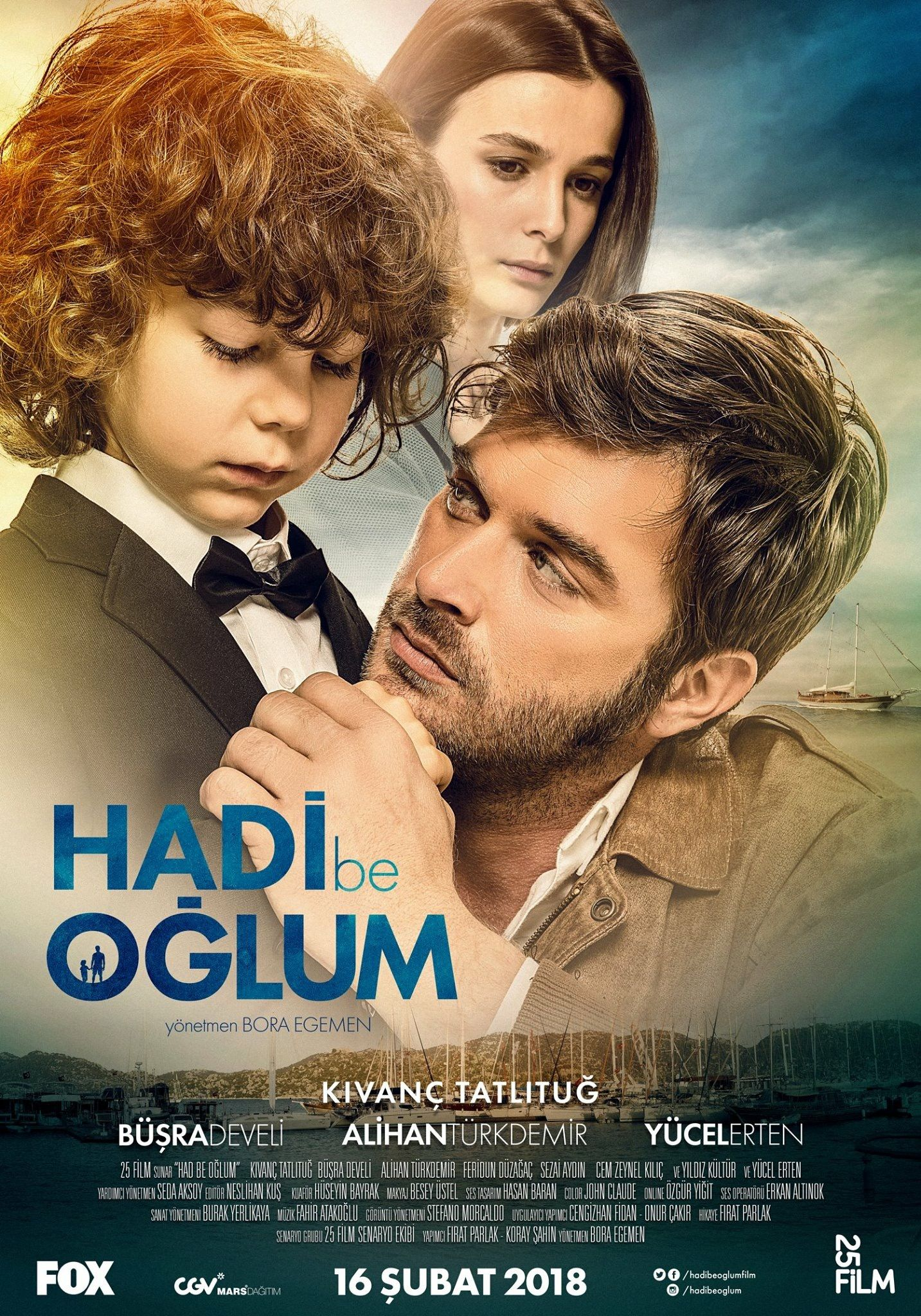 Kivanc Tatlitug - Promotional for new movie  Opened in Turkey