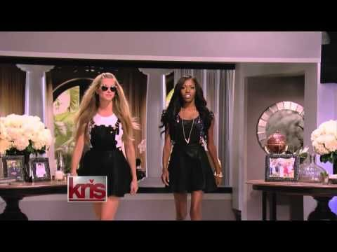 Kendall & Kylie's Fall Collection Featured On The Kris Jenner Show - YouTube