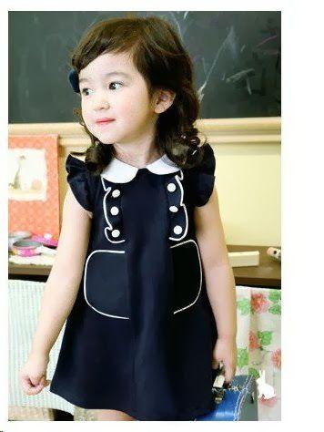 8e280c99350a95586af87ed777f2e8cd dress pesta anak model korea usia 4 tahun buat qila bole juga,Model Baju Wanita Korea