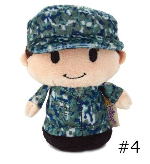 Itty Bitty Soldier: Itty Bittys Camo US Air Force, Army, Navy, Marines