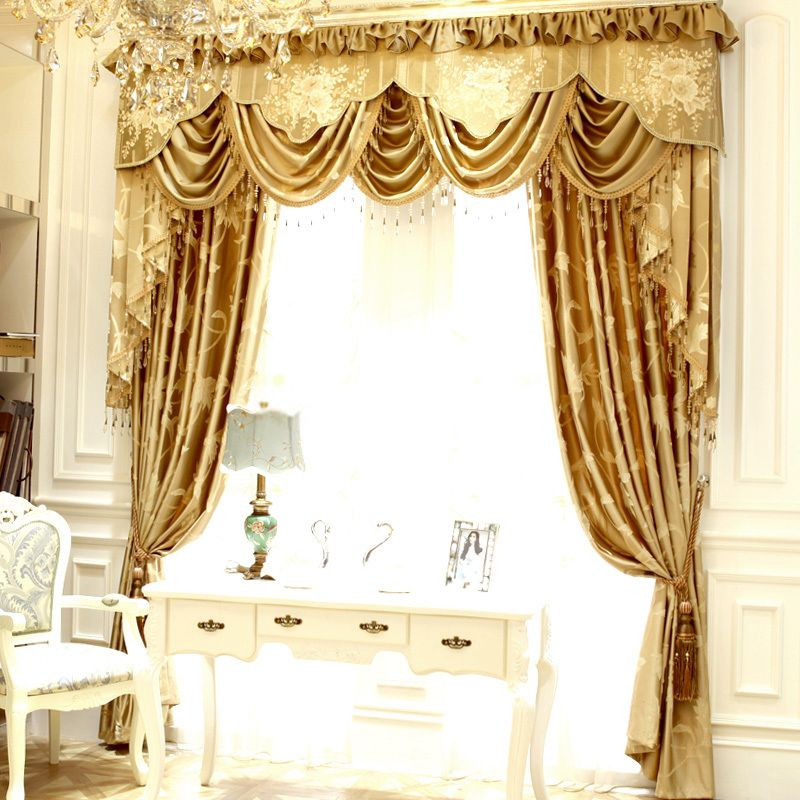 Cotton Room Darkening Living Room Designer window curtains ...