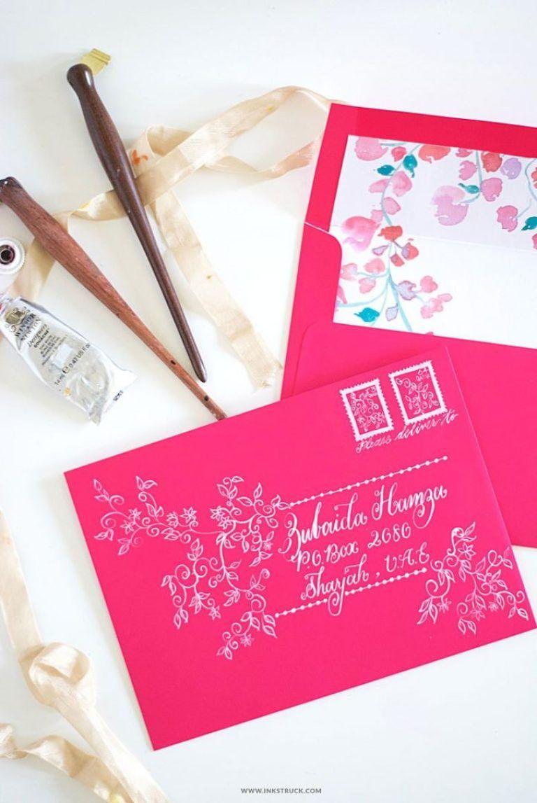 10+ Cool Envelope Addressing Projects | Envelope art ...