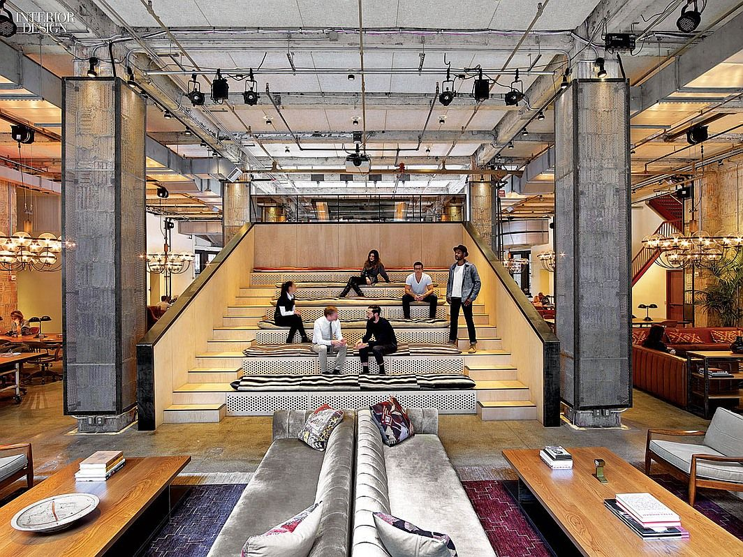 office interiors magazine. Working It: Rockwell\u0027s NeueHouse Is More Club Than Office | Projects Interior Design Interiors Magazine