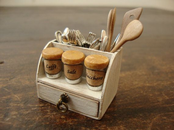 Dollhouse Miniature Accessory For Kitchen Kitchens Are My Favorite