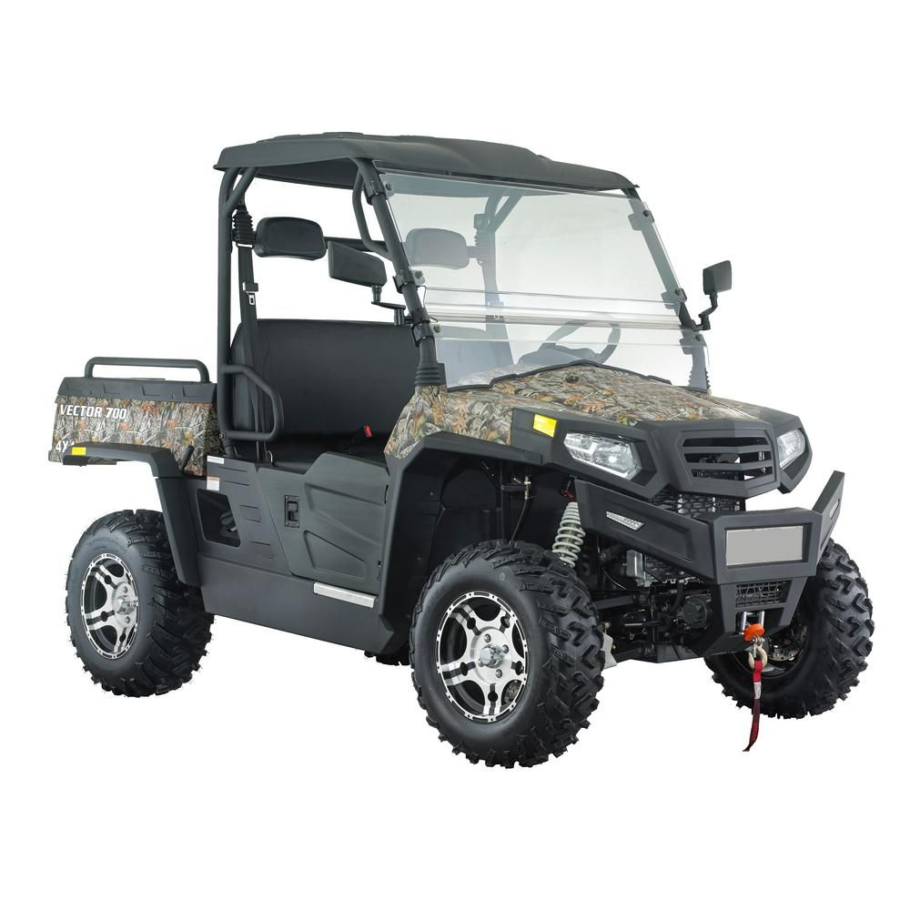 Vector 700 4WD 700cc UTV in Camo-HDVector700VTC | Products