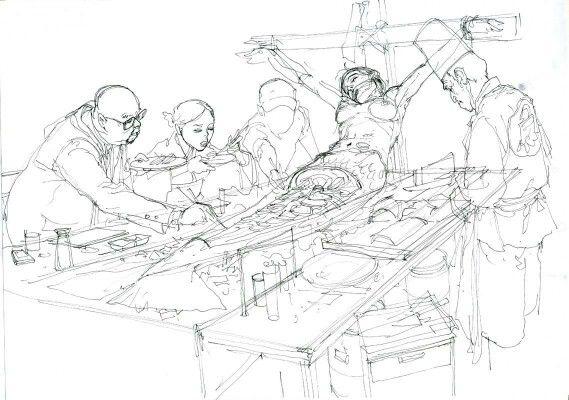Illustration by Kim Jung Gi