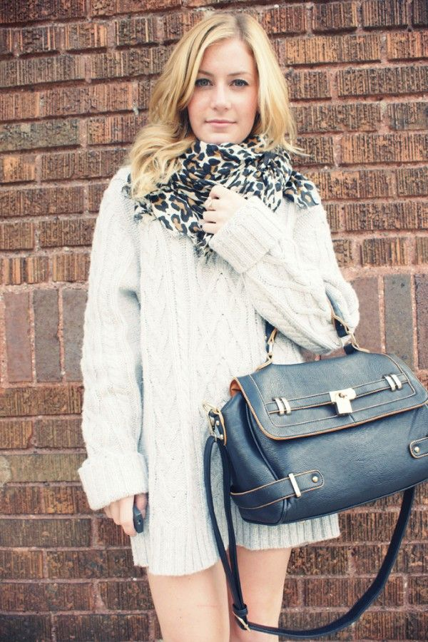 Oversized cable knitted sweaters, white loose Oversize pullover ...