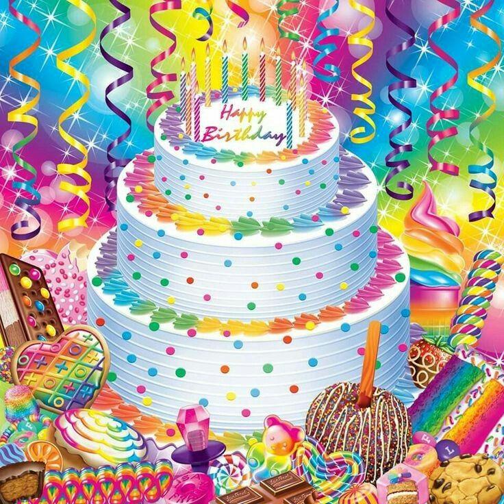 Miraculous Lisa Frank Happy Birthday With Images Lisa Frank Birthday Funny Birthday Cards Online Alyptdamsfinfo