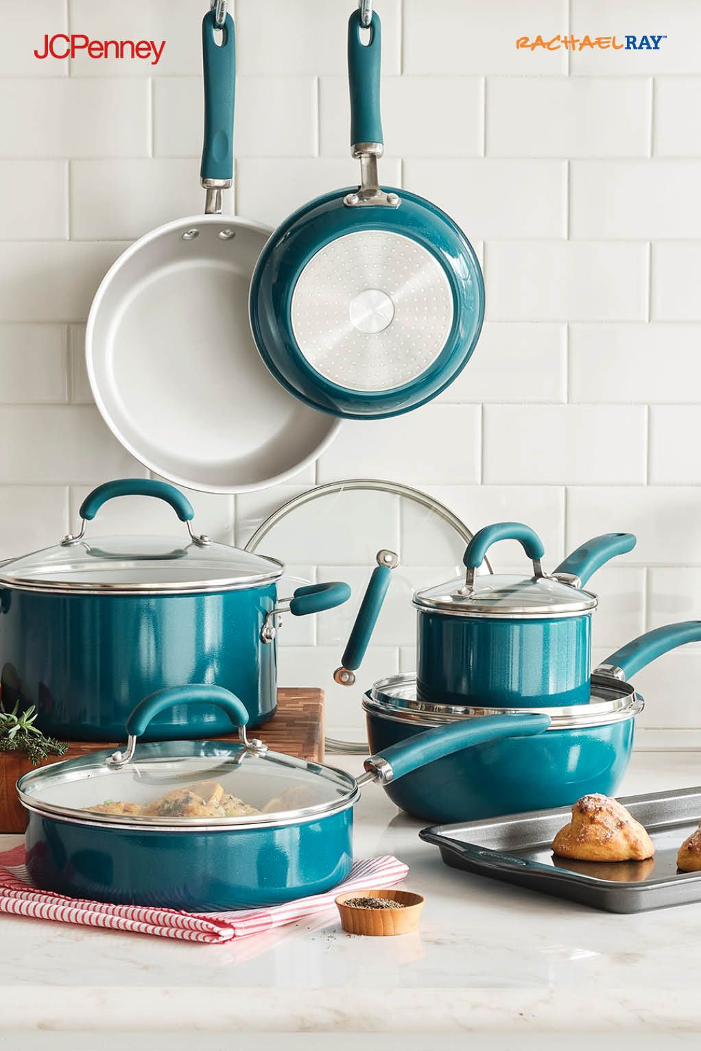 New At Jcpenney Rachael Ray Cookware Is The Perfect Mix Of Fun