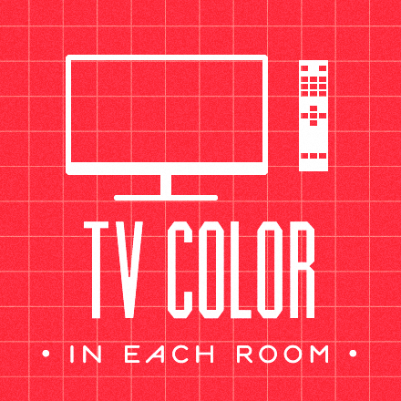 tv color in each room. check -> www.veronaking.it