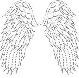 Vleugels diy 56 pinterest nagelbilder vorlagen und fadengrafik - Fadenkunst vorlagen ...