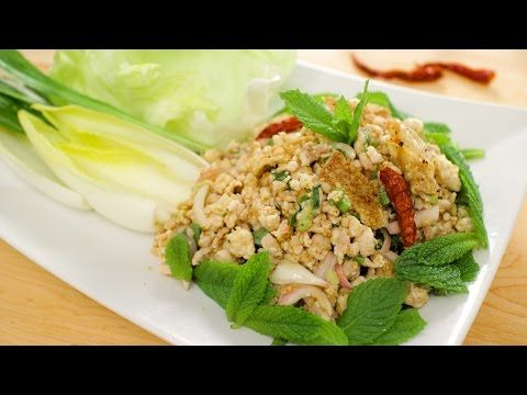 Laab gai northeastern chicken salad hot thai kitchen youtube this famous dish is iconic of northeastern thai cuisine and its probably the healthiest chicken salad ive ever seen a few years ago i made a pork laab forumfinder Gallery