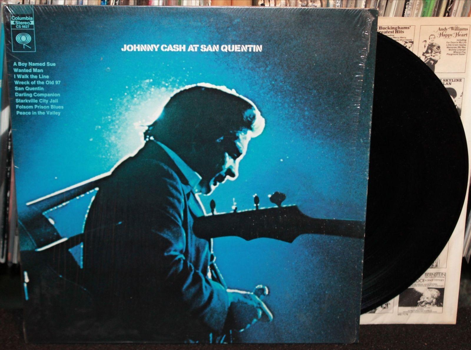 Johnny Cash Quot Live At San Quentin Quot Lp Columbia Records