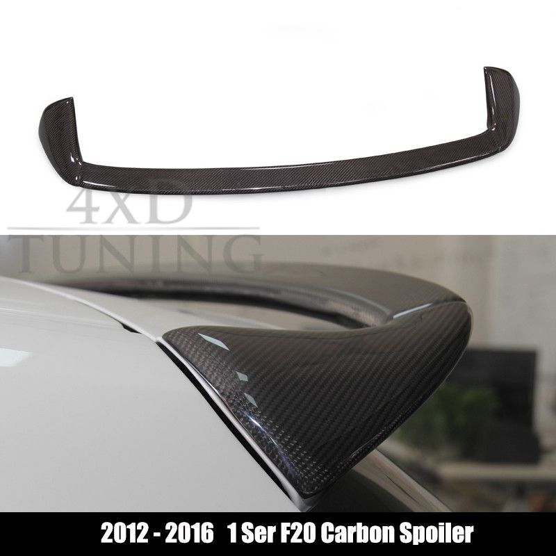 bmw f20 spoiler 116i 120i 118i m135i 1 series f20 carbon. Black Bedroom Furniture Sets. Home Design Ideas