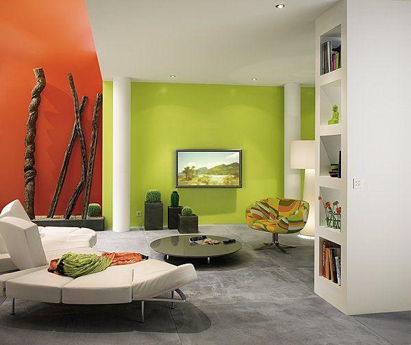 dans un loft peindre un mur d une couleur fonc e att nue. Black Bedroom Furniture Sets. Home Design Ideas