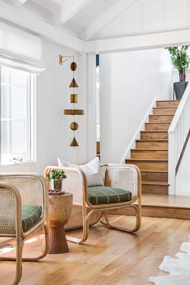Californian style decor in wide open living room decor arrangement ideas