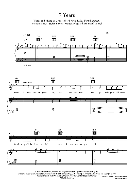 Assez My piano arrangement of the song Flightless Bird, American Mouth  BK42