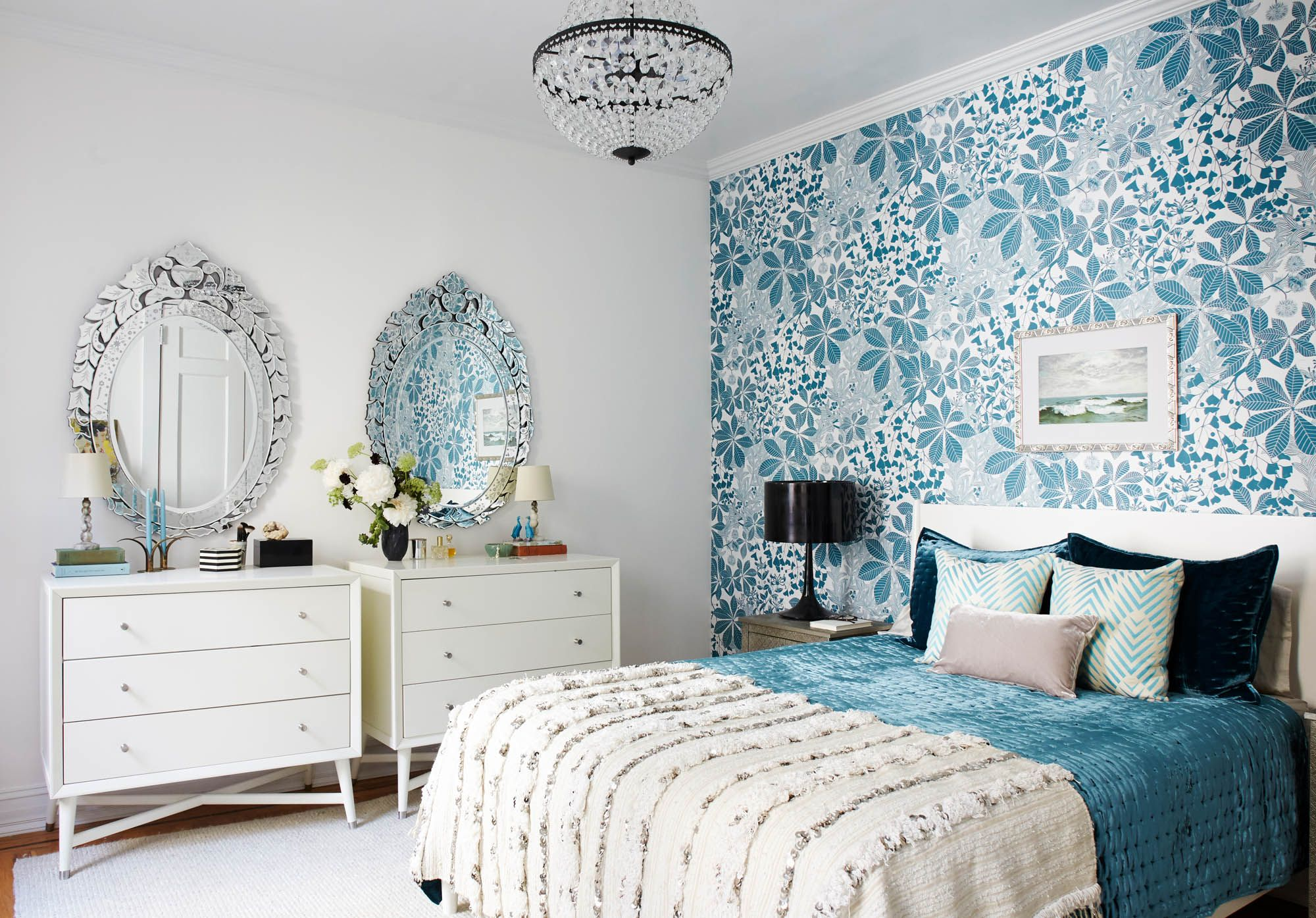 Vintage master bedroom decor  Pin by Krasimira Manolova on Home Decoration  Pinterest  Blue