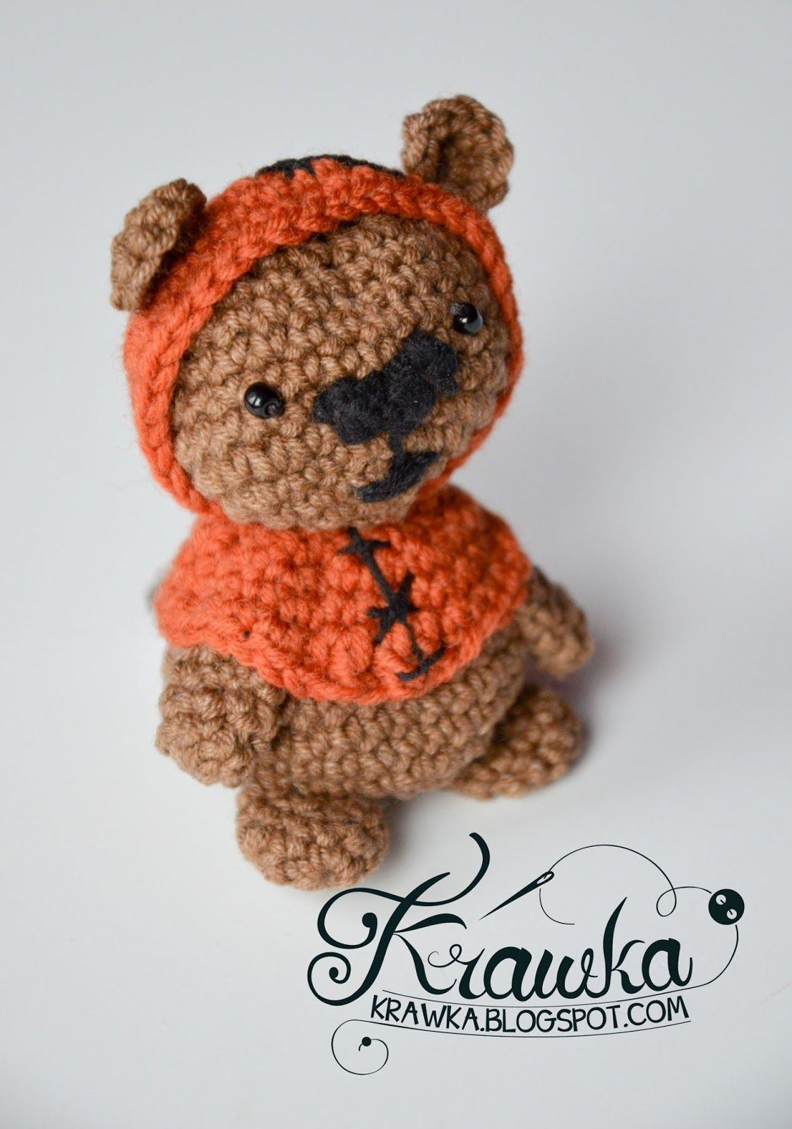 Krawka ewok bear from star wars movie totally free crochet krawka ewok bear from star wars movie totally free crochet pattern by krawka bankloansurffo Images