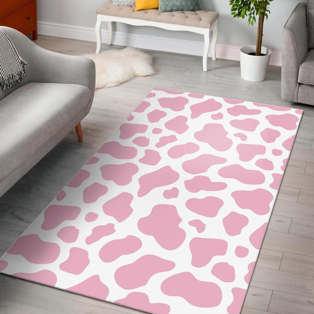 Cow Print Pink Custom Travel Baby Wipe Case Pattern
