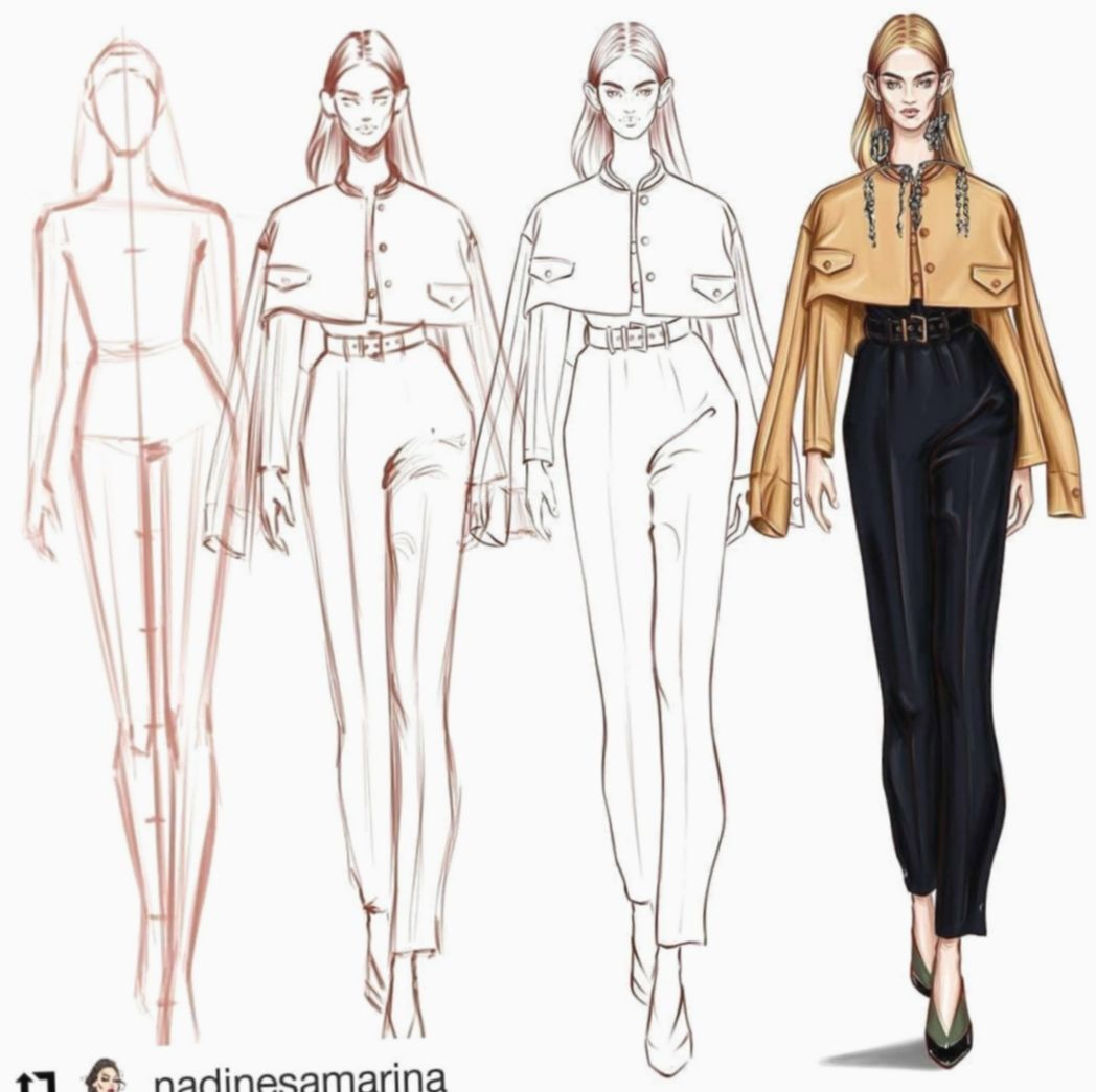 Dress Designs Sketches Step By Step Wiwt Instastyle Whatiwore Illustration Fashion Design Fashion Design Sketches Fashion Drawing Dresses