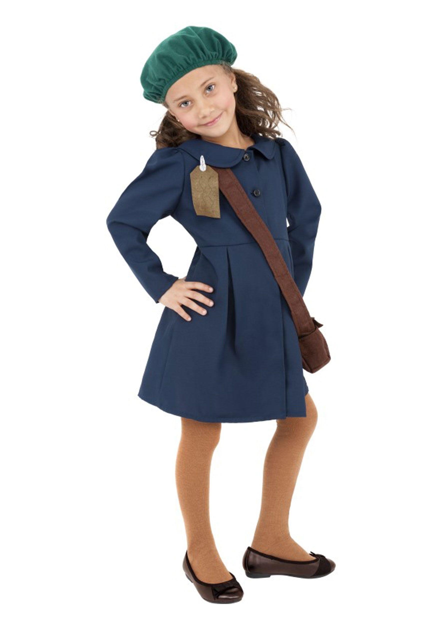 Girls Anne Frank Costume Fancy dress costumes kids