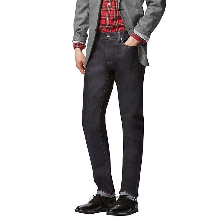 78e103125528ec Men stretch selvedge skinny jeans   Mens Clothing   Denim jeans ...