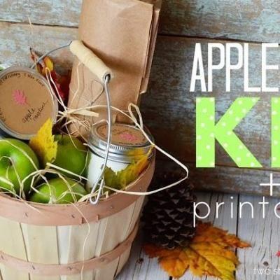 Apple Pie Kit {free printable}