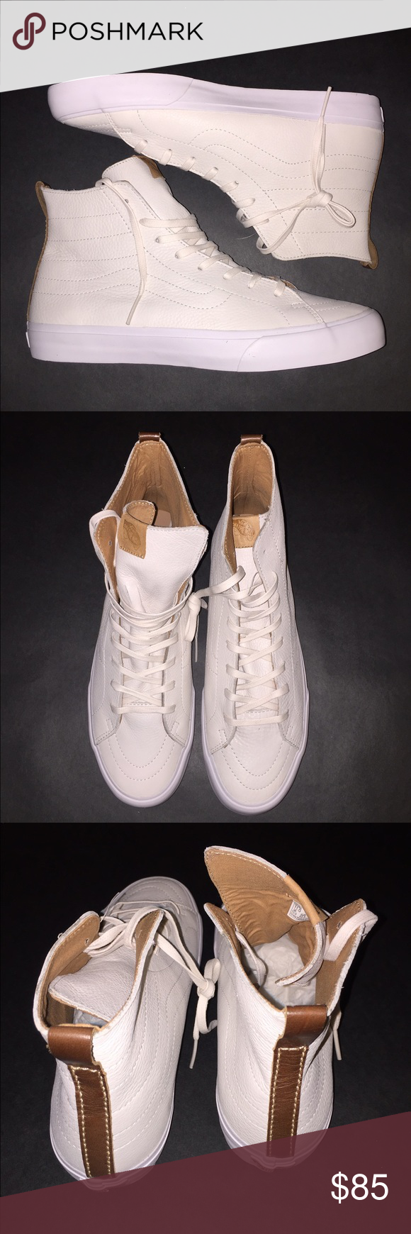 7f9e0081dcb106 Vans sk8 hi winter white size 11 Brand new sk8 hi Vans Shoes Sneakers