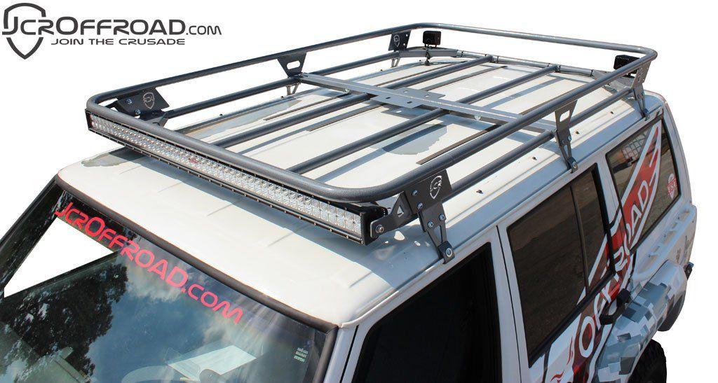 Jcroffroad Adventure Roof Rack Jeep Cherokee Xj 84 01 Jcroffroad Jeep Cherokee Xj Jeep Xj Mods Jeep