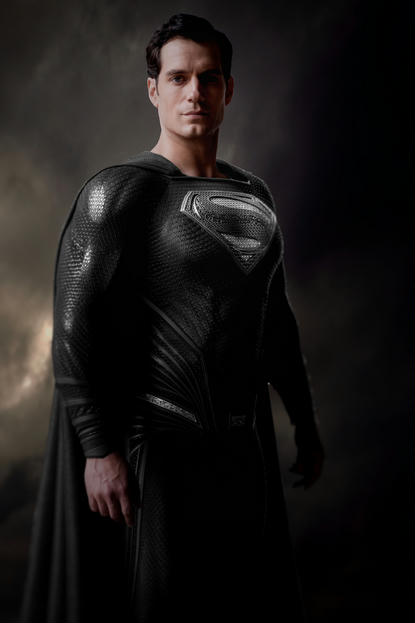 Zack Snyder Shared A Photo On Vero Superman Black Suit Superman Henry Cavill Black Superman