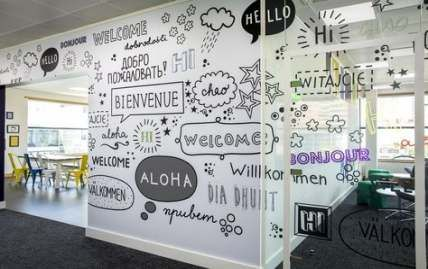 Super Wall Graphics Fitness Ideas #fitness #wall