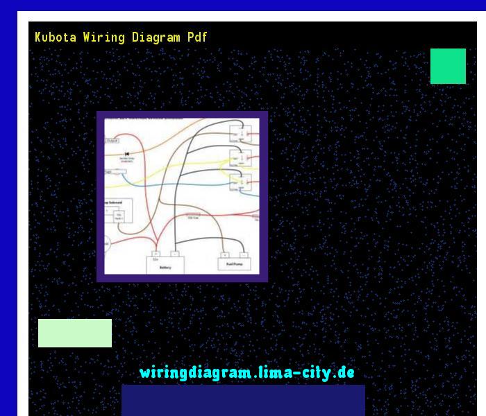 Kubota Wiring Diagram Pdf  Wiring Diagram 174544