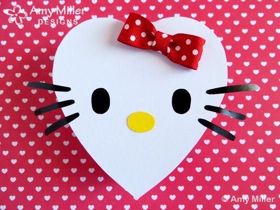 Valentineu0027s Day Chocolate Heart Box Hello Kitty Theme