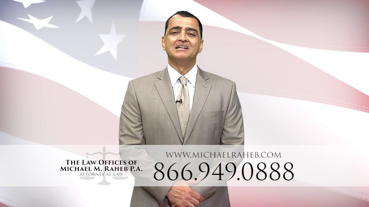 Michael Raheb Raheb Law Firm Naples Tv Ad Http Www