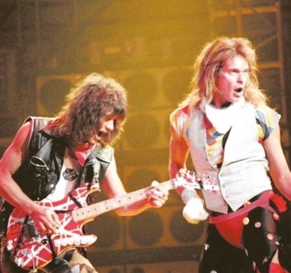 Pin By Mike Saucedo On Van Halen Eddie Van Halen Van Halen David Lee Roth
