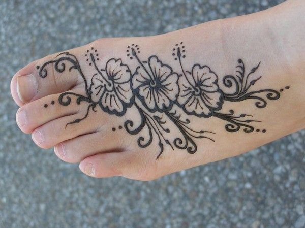 Mehndi Tattoo Flower Designs : 100 simple henna tattoo designs flowers hennas and flower