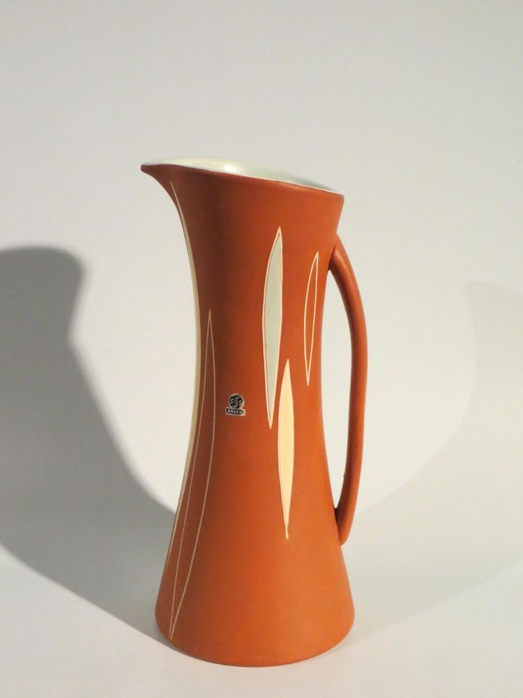 50er Jahre Keramik Vase von STÜTZEL-SACHS Form H/32 (ca. 32,5 cm ) wunderschön !