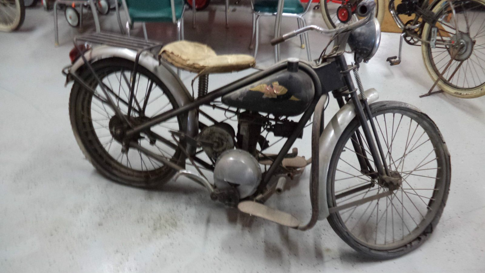 1948 1950 Simplex Servi Cycle Barn Find Priced To Sell L K Vintage