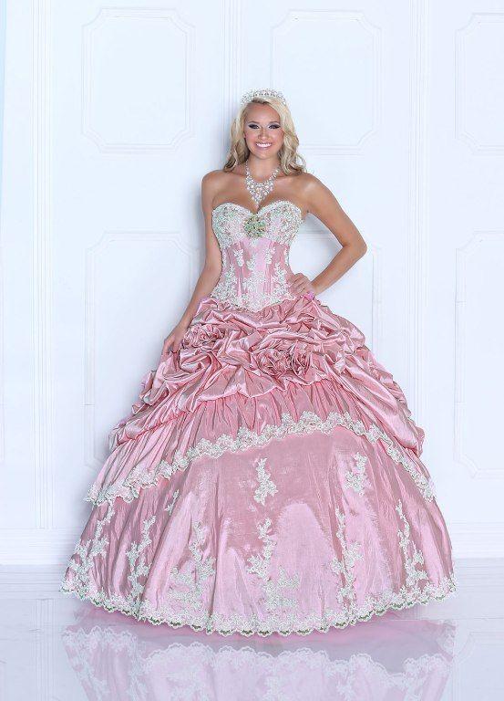 vestidos para quinceanera estilo princesa | Vestidos estilo princesa ...