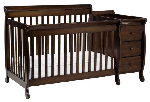 Amazon Com Davinci Kalani Convertible Crib And Changer Including Toddler Rail White Baby Cribs Baby Cribs Best Crib