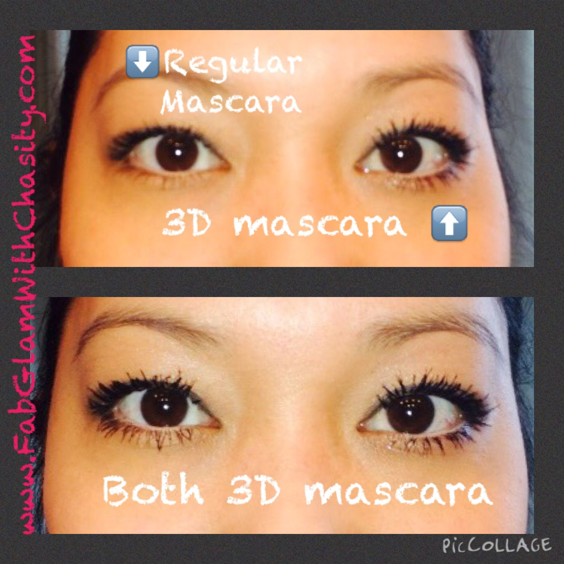 1b13ba09441 I used a new over the counter mascara Loreal butterfly effect. Loved how it  separated my lashes. My 3D mascara looked awesome over it!