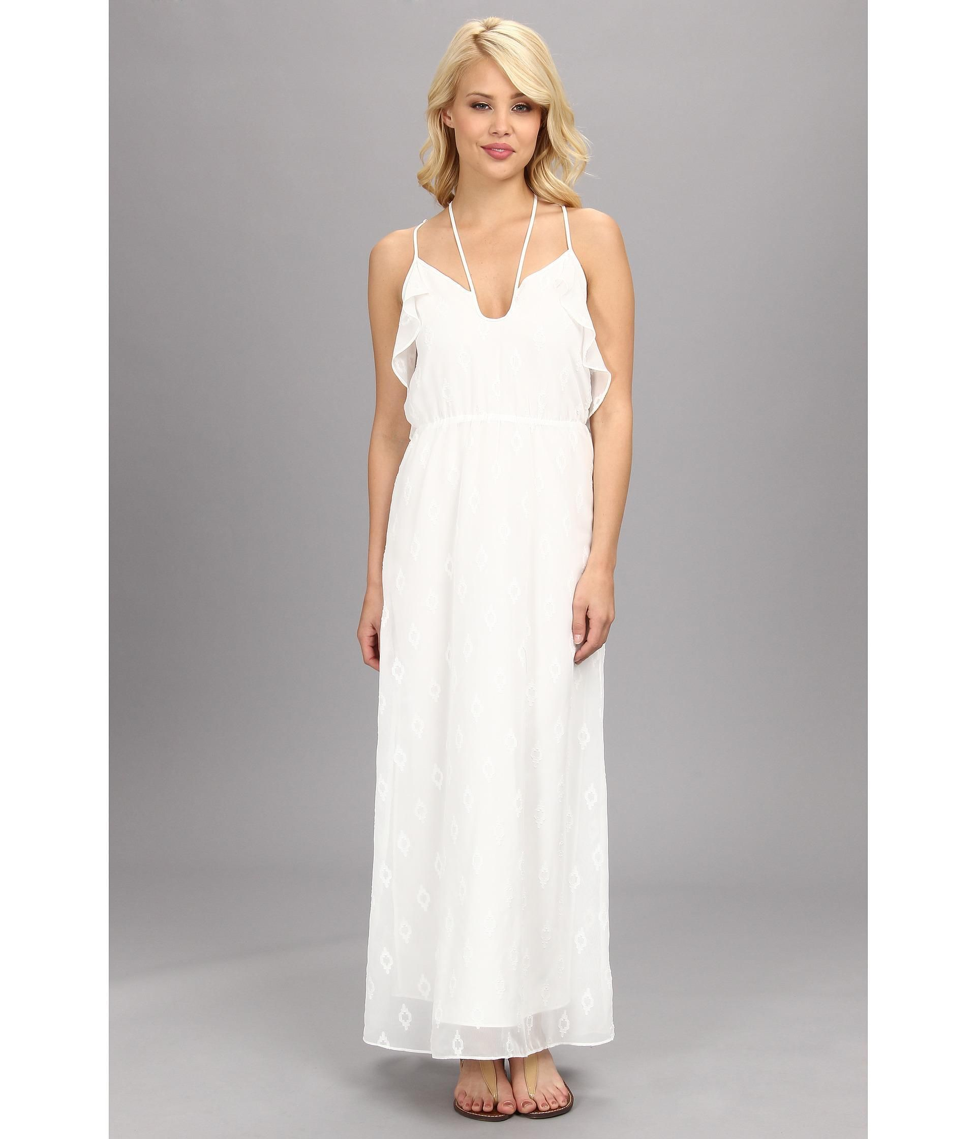 Dress for wedding party female  Youure a vision in white in this stunning DV by Dolce Vita dress