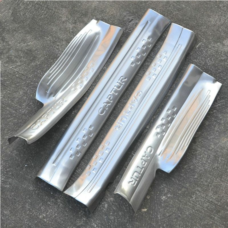 High Quality Stainless Steel Built In Scuff Plate Door Sill 4pcs