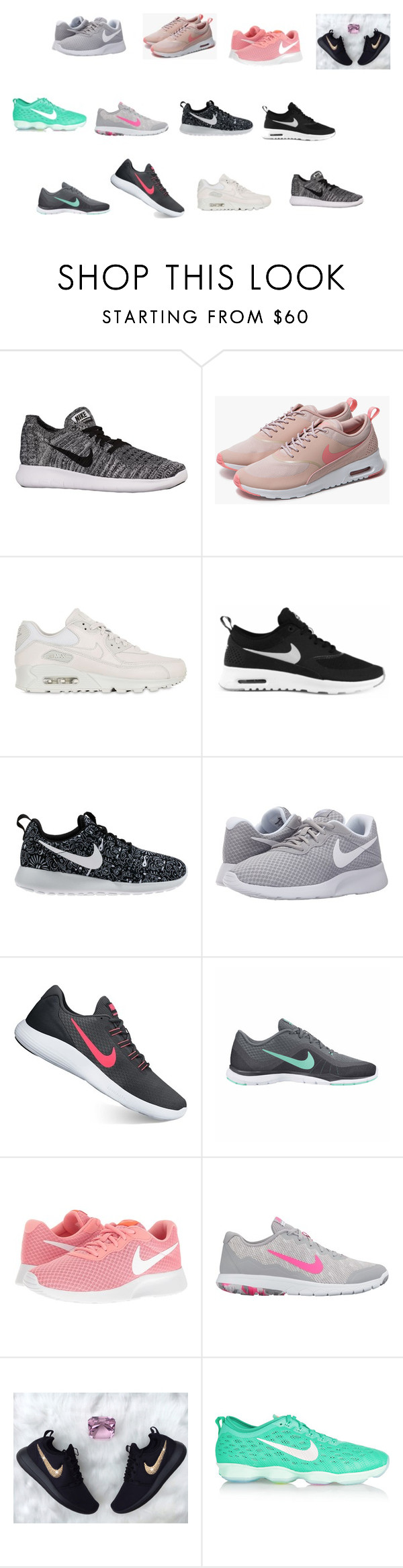 """""""nike"""" by princessnp on Polyvore featuring NIKE"""