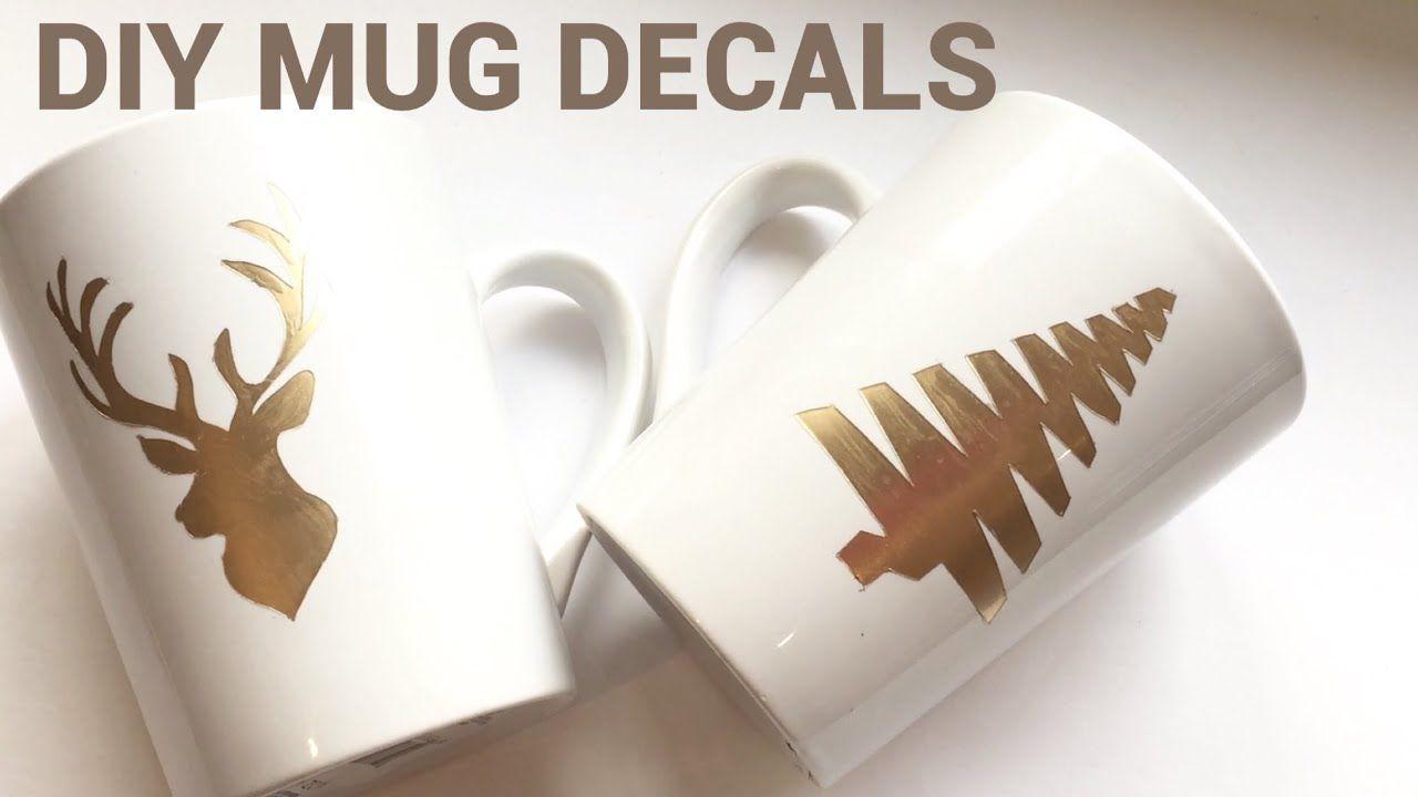 Dollar Tree DIY  How to make custom designed mugs * NO ...