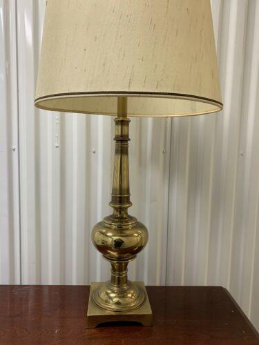 1960s Stiffel Brass Table Lamp Ebay Table Lamp Brass Table