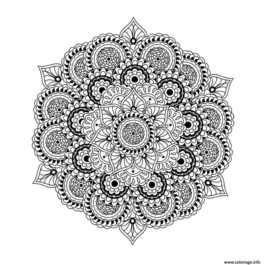 8 Extraordinaire Coloriage Mandala Difficile Fleur Images Mandala Difficile Coloriage Mandala Mandala A Imprimer